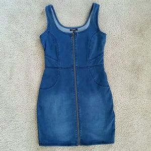 Jean Bodycon Dress
